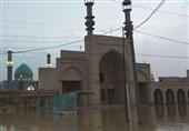 سیلاب 20 میلیارد تومان به مساجد و بقاع امامزادگان لرستان خسارت زد