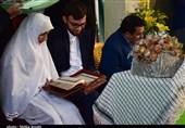 جشن ازدواج آسان زوج طلبه کرمانی به روایت تصویر