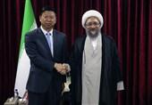 آملی لاریجانی: ایران و چین میتوانند با یکجانبهگرایی آمریکا مقابله کنند