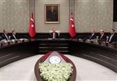نشست شورای عالی امنیت ملی ترکیه درباره سوریه