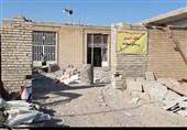 اهواز| جهادگران همچنان پای درد سیلزدگان؛ 25 گروه جهادی در روستای سبهانیه در حال فعالیت است