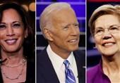 پیشتازی 10 درصدی بایدن نسبت به نزدیکترین رقیب دموکرات
