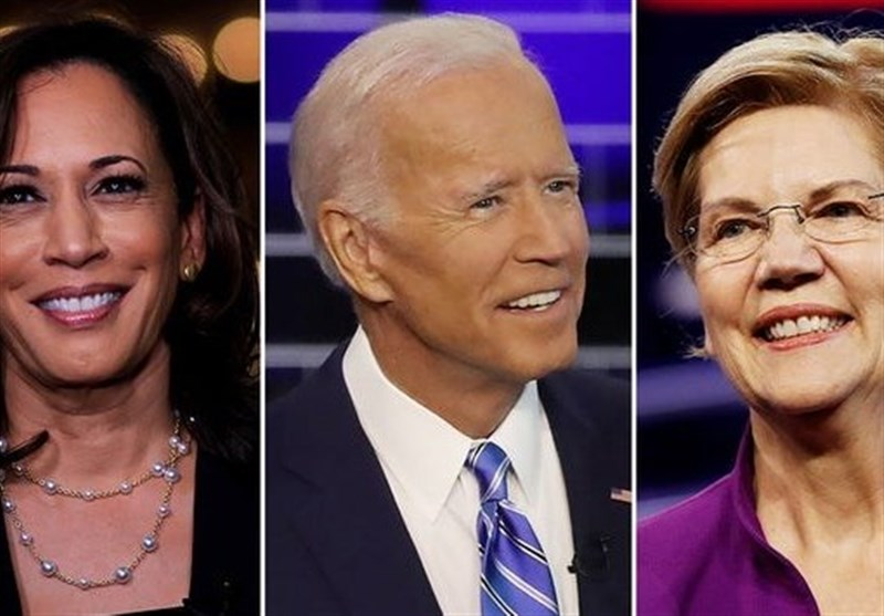 """""""وارن و بایدن"""" نامزدهای پیشتاز دموکراتها برای انتخابات 2020"""