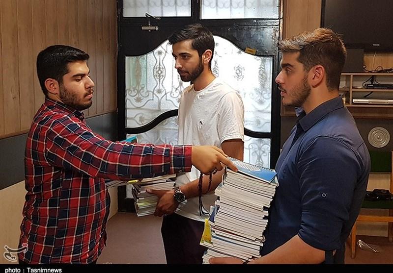 استقبال مردمی از «پویش همشاگردی» و کمک به دانش آموزان محروم+تصاویر