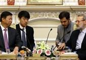 لاریجانی: ایران برنامه ای 25 ساله برای ارتباط با چین تدوین کرده است