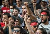 معترضان گرجی خواستار گفتوگوی مستقیم با روسیه شدند