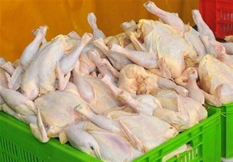 مجوز واردات 45 هزار تن مرغ صادر شد
