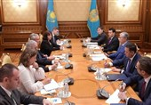 دیدار رئیسجمهور قزاقستان و وزیر اقتصاد فرانسه در نورسلطان