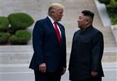 انتشار تمبر یادبود حضور ترامپ در خاک کره شمالی پس از آزمایشهای موشکی+عکس