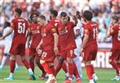 فوتبال جهان|برتری لیورپول در بازی دوستانه