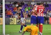 فوتبال جهان| شکست ستارگان MLS مقابل اتلتیکومادرید