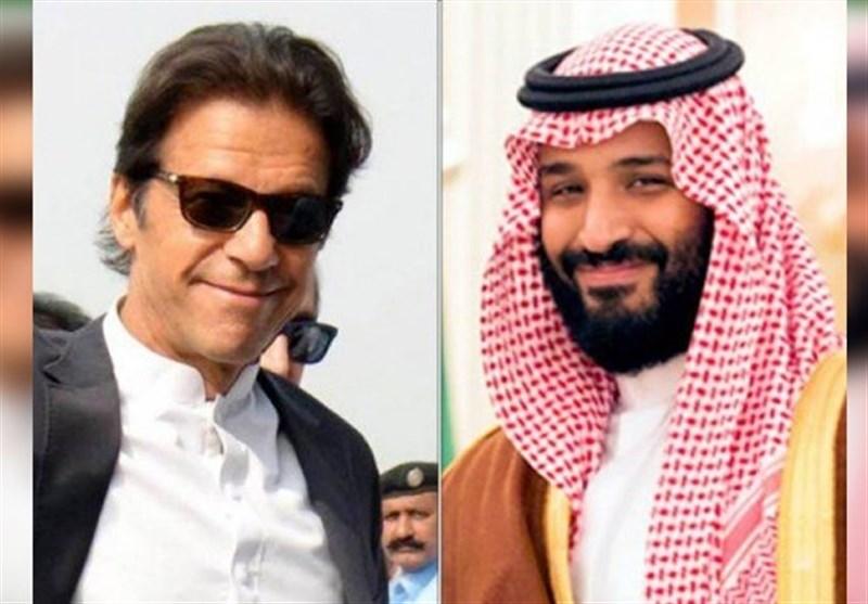 عربستان|چهارمین سفر نخستوزیر پاکستان به ریاض/ عمران خان با بن سلمان دیدار کرد+عکس