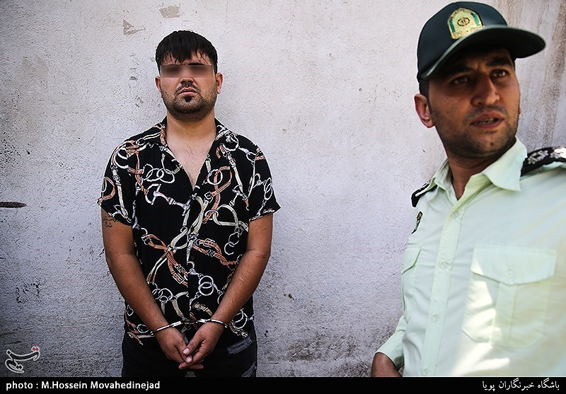 دستگیری شرور سابقهدار خزانه