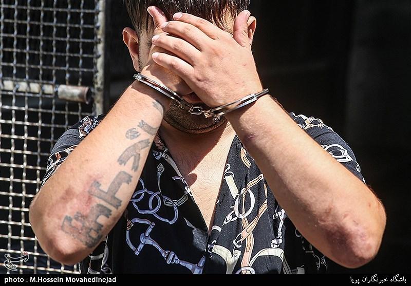 تهران  کلکسیون جرایم در پرونده شرور خزانه/ از کور کردن تا زیر گرفتن مردم با خودرو + تصاویر