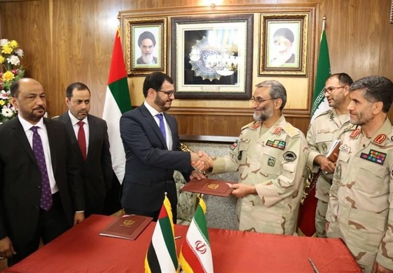 Iran, UAE Sign MoU on Border Security