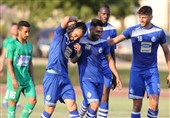 Esteghlal Downs Machine Sazi in Friendly Match