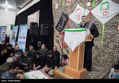 وداع با 26 شهید تازه تفحص شده در کرمانشاه