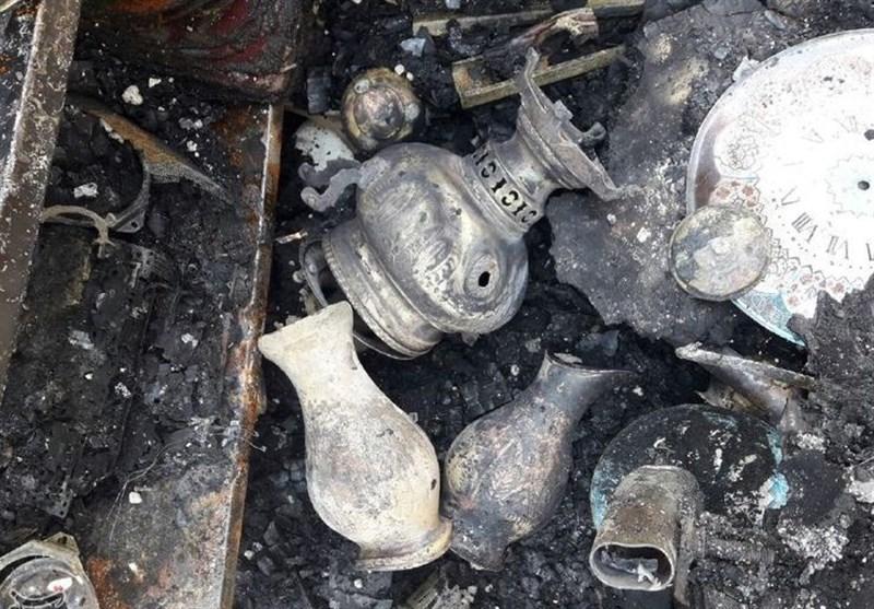 بازارچه صنایعدستی بروجرد در آتش سوخت؛ خاکسترشدن میراث هنرمندان+ تصاویر