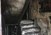 تهران| 4 کشته بر اثر آتشسوزی در قهوهخانه+ تصاویر