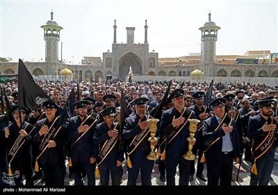 قم میں شہادت امام جواد (ع) کی مناسبت سے عزاداری کی تصویری رپورٹ