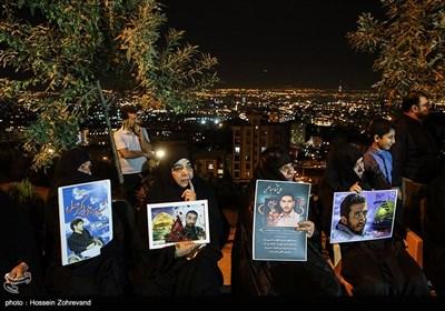 حضور خانواده شهدا در دومین یادواره شهدای گردان حیدر کرار یگان ویژه فاتحین