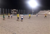 تیم فوتبال ساحلی ایفاسرام اردکان یزد از سد دریانوردان بوشهر عبور کرد