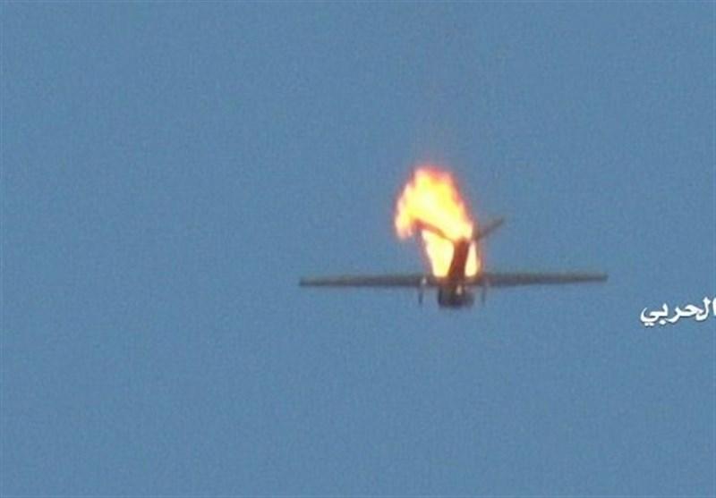 یمن| سرنگونی هواپیمای جاسوسی متجاوزان/ کشته شدن چند نظامی سعودی و سودانی در مرزها
