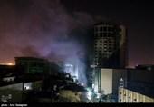 کمیته فنی استانداری فارس وضعیت سازهای هتل آسمان شیراز را بررسی کردند