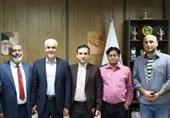 دیدار اورسجی با رئیس فدراسیون بینالمللی ورزشهای زورخانه و کشتی پهلوانی