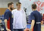 کریلینکو: باید به تیم ملی بسکتبال ایران احترام بگذاریم