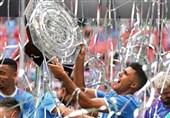 فوتبال جهان| قهرمانی منچسترسیتی در سوپرجام انگلیس از دریچه تصاویر