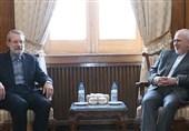 لاریجانی خطاب به ظریف: شما نماد ورزیدگی و سختکوشی دیپلماسی هستید