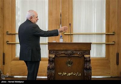کنفرانس خبری محمدجواد ظریف وزیر امور خارجه