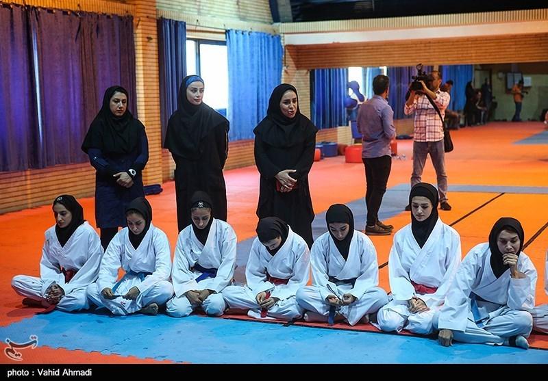 دومین اردوی آماده سازی تیم کاراته بانوان آغاز شد