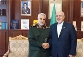 General Soleimani Supports Zarif after US Sanction