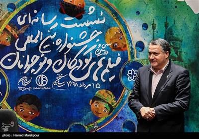 علیرضا تابش دبیر سیودومین جشنواره بینالمللی فیلمهای کودکان و نوجوانان در پایان نشست خبری