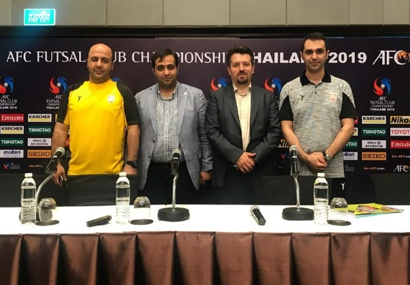 Mes Coach Taghipour Confident of Beating Bank of Beirut