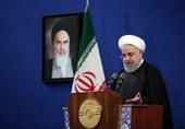 روحانی: حوادث اخیر نشان داد اولین فراری از منطقه آمریکا است