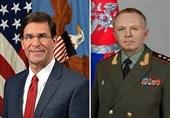 سفر همزمان هیئت های دفاعی امریکا و روسیه به مغولستان