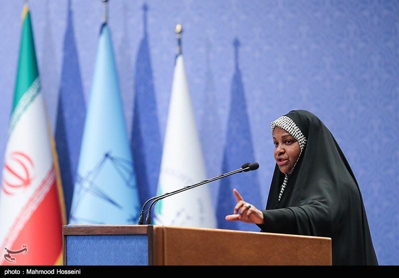 سخنرانی مرضیه هاشمی در همایش بزرگداشت روز حقوق بشر اسلامی و کرامت انسانی
