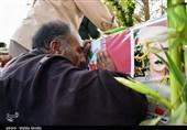 آئین استقبال از شهید امنیت و مقابله با اشرار در فرودگاه یاسوج برگزار شد
