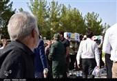 آئین استقبال از پیکر مطهر شهیدان قربانعلیپور در کرمان به روایت تصویر