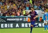 فوتبال جهان| بارسلونا در دیداری دوستانه ناپولی را شکست داد