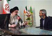 امام جمعه موقت تهران از دفتر تسنیم کرمان بازدید کرد