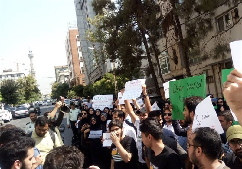 Iranian Students Decry India's Kashmir Crackdown