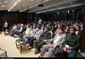 مراسم بزرگداشت روز خبرنگار در سنندج از دریچه دوربین تسنیم