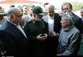 سرلشکر سلامی: سپاه تا رفع کامل مشکلات در کنار زلزلهزدگان خواهد بود / زندگی دلآرام حق مردم زلزلهزده است + تصاویر