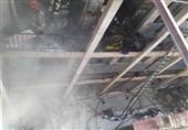 تهران| نجات 30 نفر از آتشسوزی در بازار + تصاویر