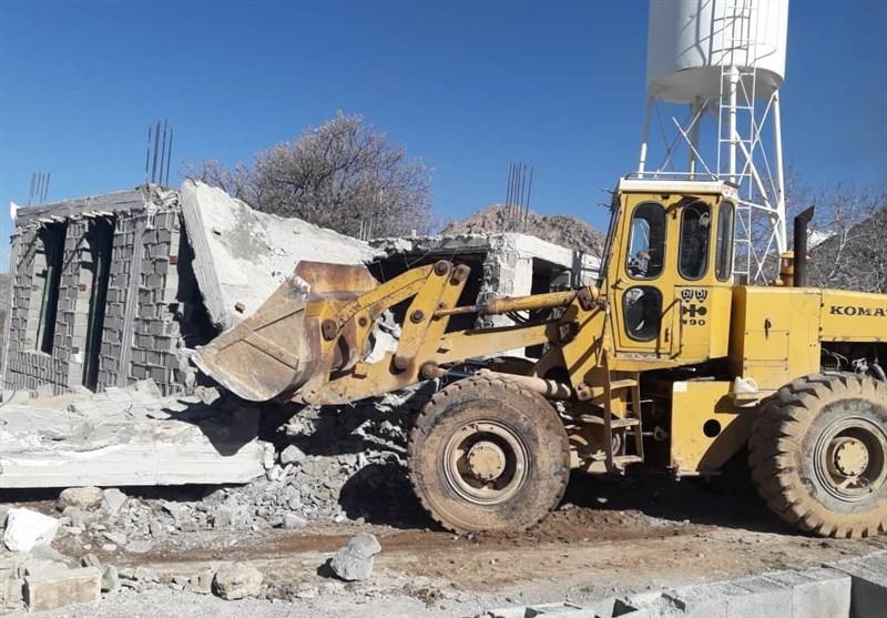 ساختوساز غیرمجاز در اراضی کشاورزی قزوین متوقف شد