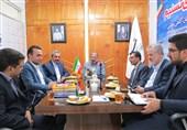 بازدید فرماندار بیرجند و 5 نفر معاونش از دفتر تسنیم خراسان جنوبی + تصویر